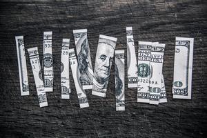 money cut up wrp