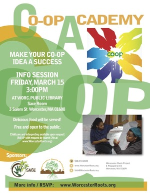 Co-op Academy Info Session Flyer 2-28-13